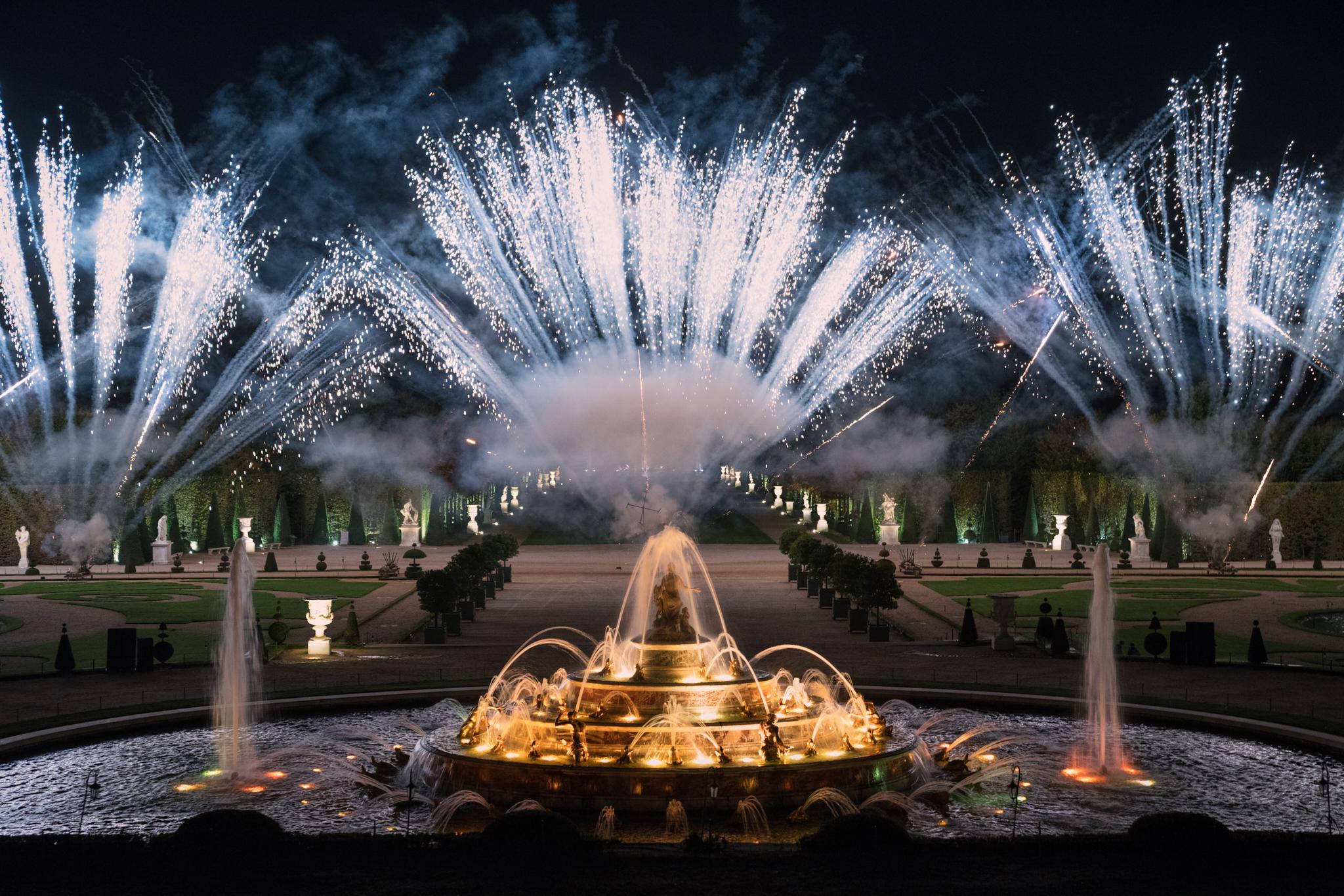 Fireworks, Chateau de Versailles  Sony A7rIII, Sony 24-70mm f2.8 GM