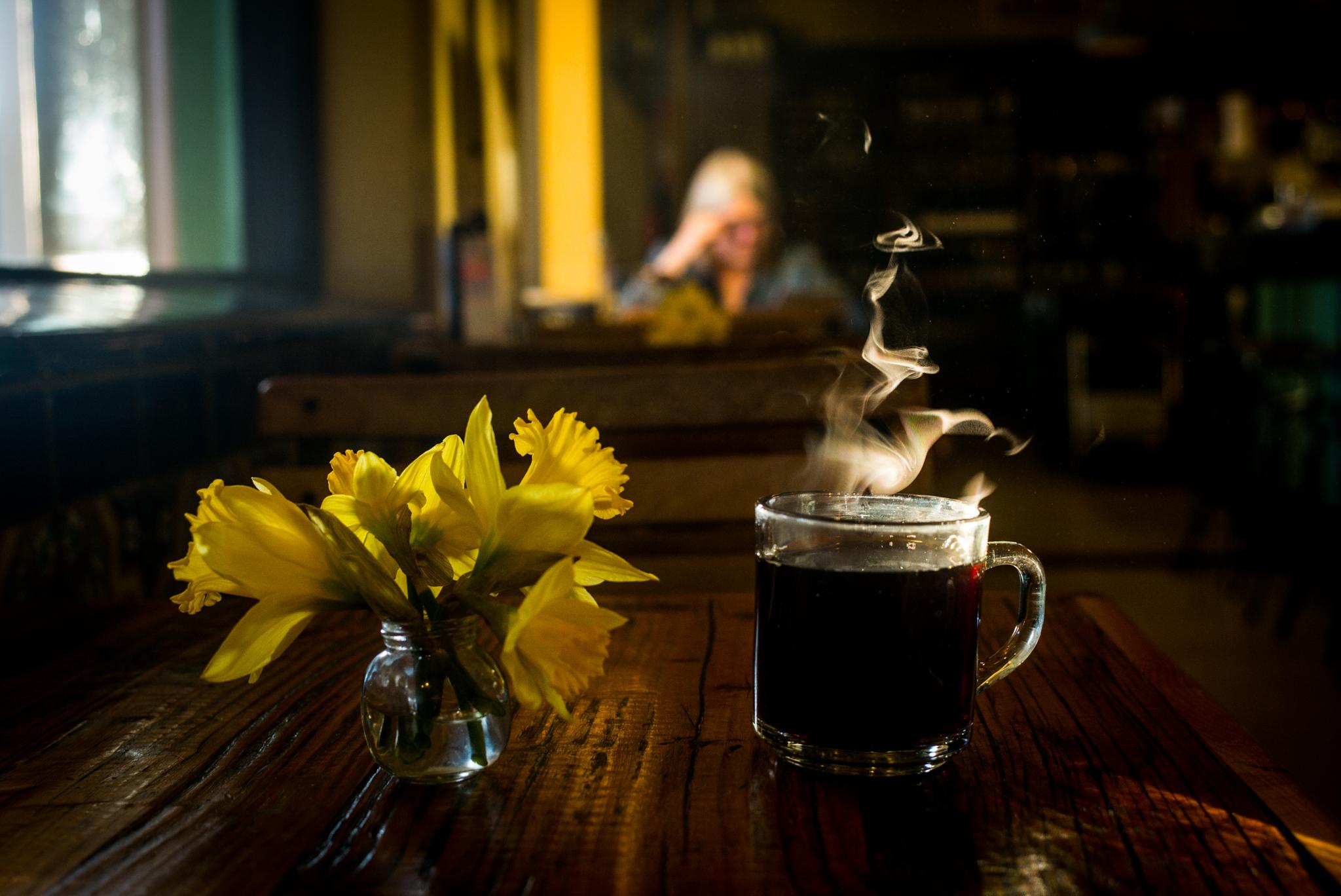 Morning coffee, Tucson, Arizona.  Leica M240, Leica 35mm f1.4 Summilux.