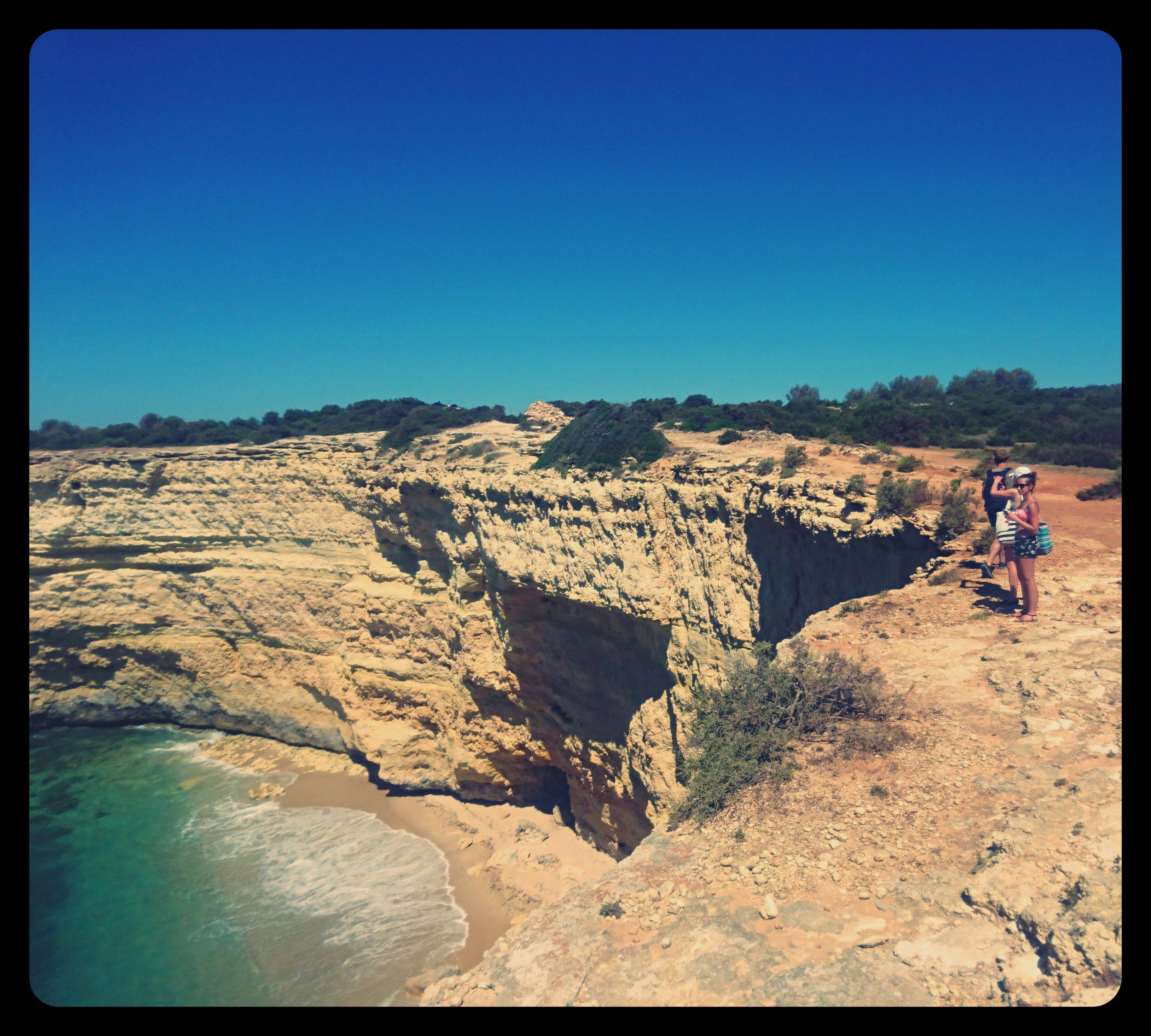 W drodze na Praia das Fontainhas