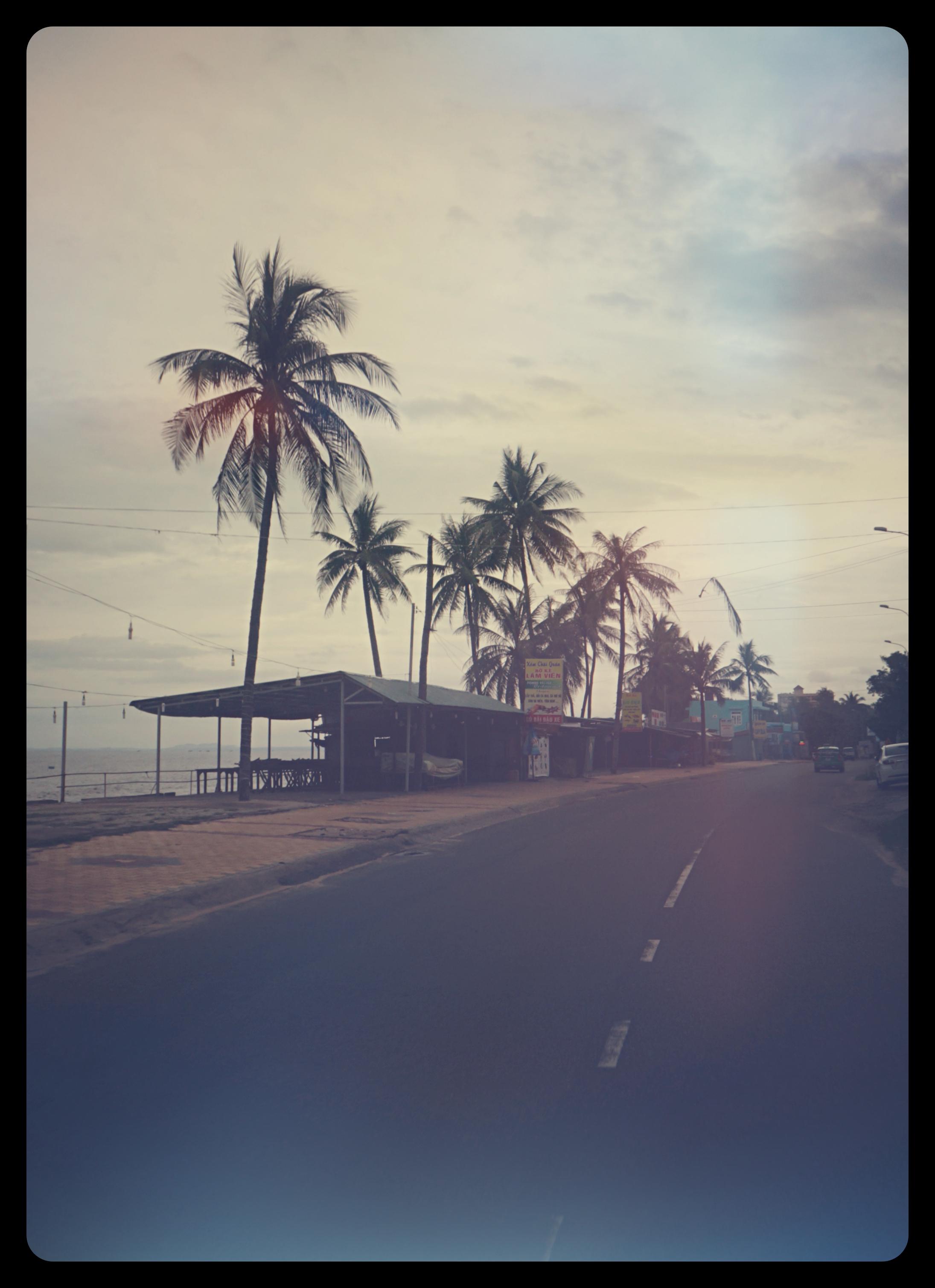 Główna ulica Mui Ne