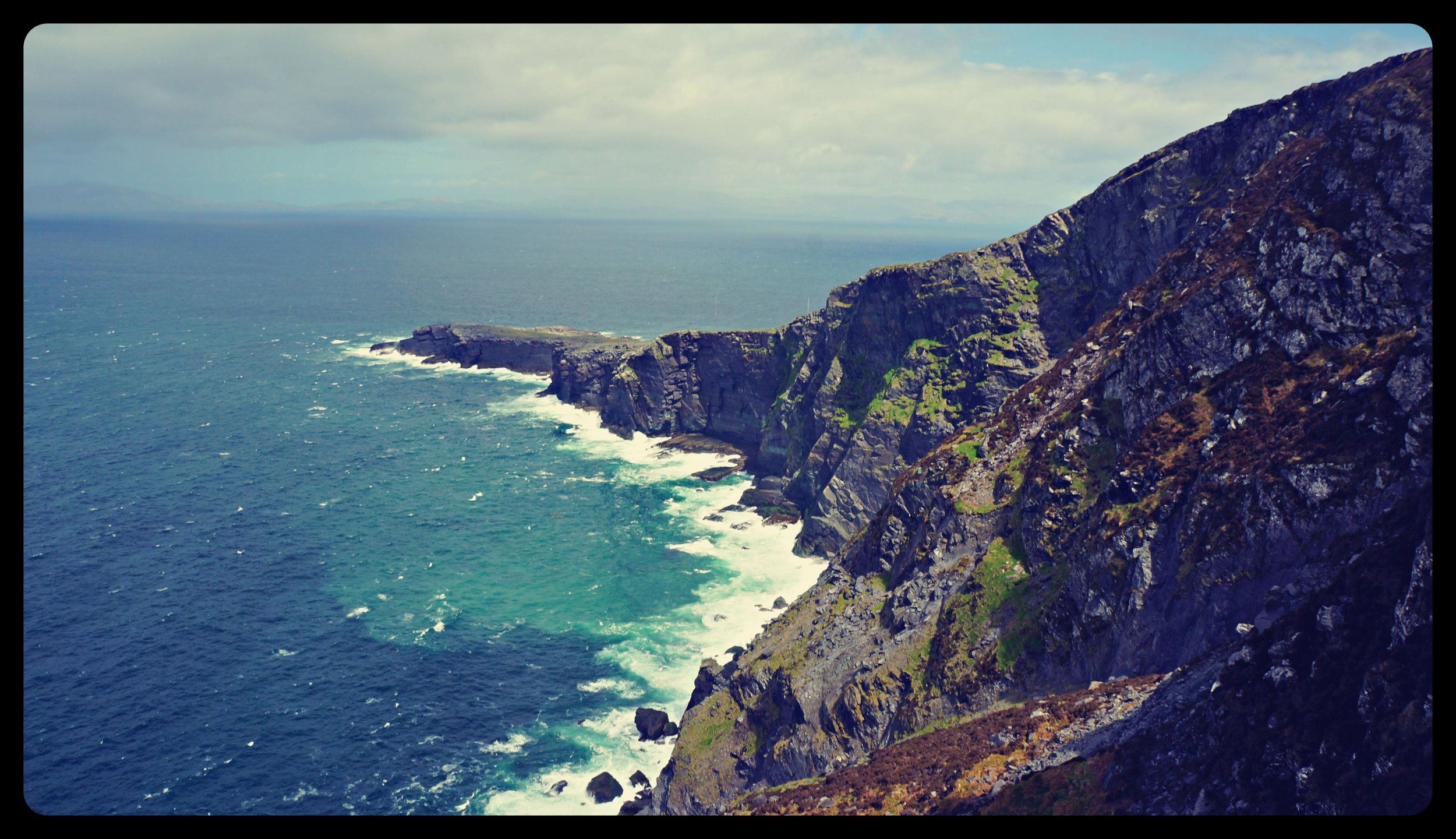 Ring of Kerry - cliffs of Kerry