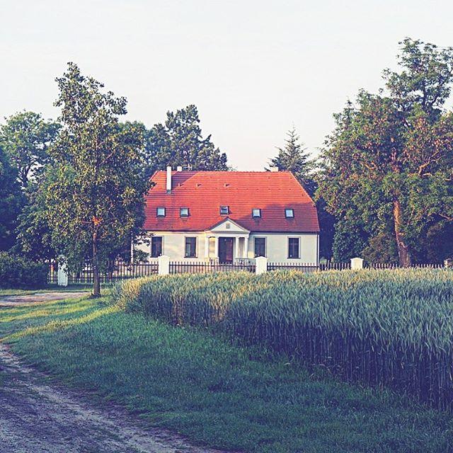 🇵🇱 Zgodnie z obowiązującymi ówcześnie trendami, dwór w Gogolewie został w XIX wieku przebudowany tak, aby bezpośrednio nie łączył się z budynkami gospodarczymi. Dzięki temu możemy dzisiaj podziwiać piękną posiadłość otoczoną zielenią, a nie murami. Chciałbyś/ chciałabyś zamieszkać w takim miejscu? 🏡😀 . . 🇬🇧 According to current trends, the mansion in Gogolewo was rebuilt in the 19th century in such a way that it would not adhere directly with the farm buildings. Thanks to this, we can admire a beautiful property surrounded by nature, not brick walls. Would you like to live in a place like this? 🏡😀 . . #manorhouse #mansion #gogolewo #polishmansion #polishhistory #polandisbeautiful #visitpoland #traveltopoland #discoverpoland #polishcountryside #igtraveller #travelstory #greenery #nature #summerhouse #polishtravelblog #countryside #dwór #dworek #polskawieś #wielkopolska #odkrywam #zwiedzampolskę #podrozemaleiduze #podrozniczka #polskajestpiekna #polskieblogipodroznicze #polskahistoria #inspiracja #altertonative