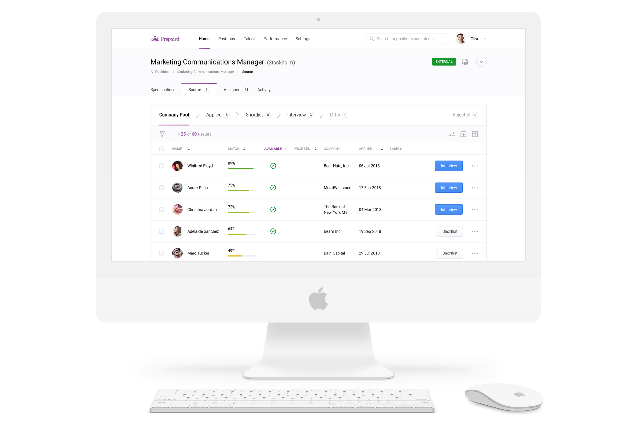 Make great people Decisions - With a minimal footprint and fully comprehensive digitized profiles, make safer recruitments by basing your decisions on an objective and holistic approach.