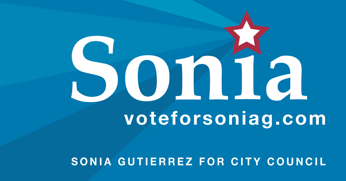 Sonia for City Council - Social Posting