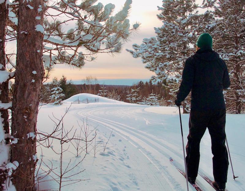 Swedetown Powder House trail