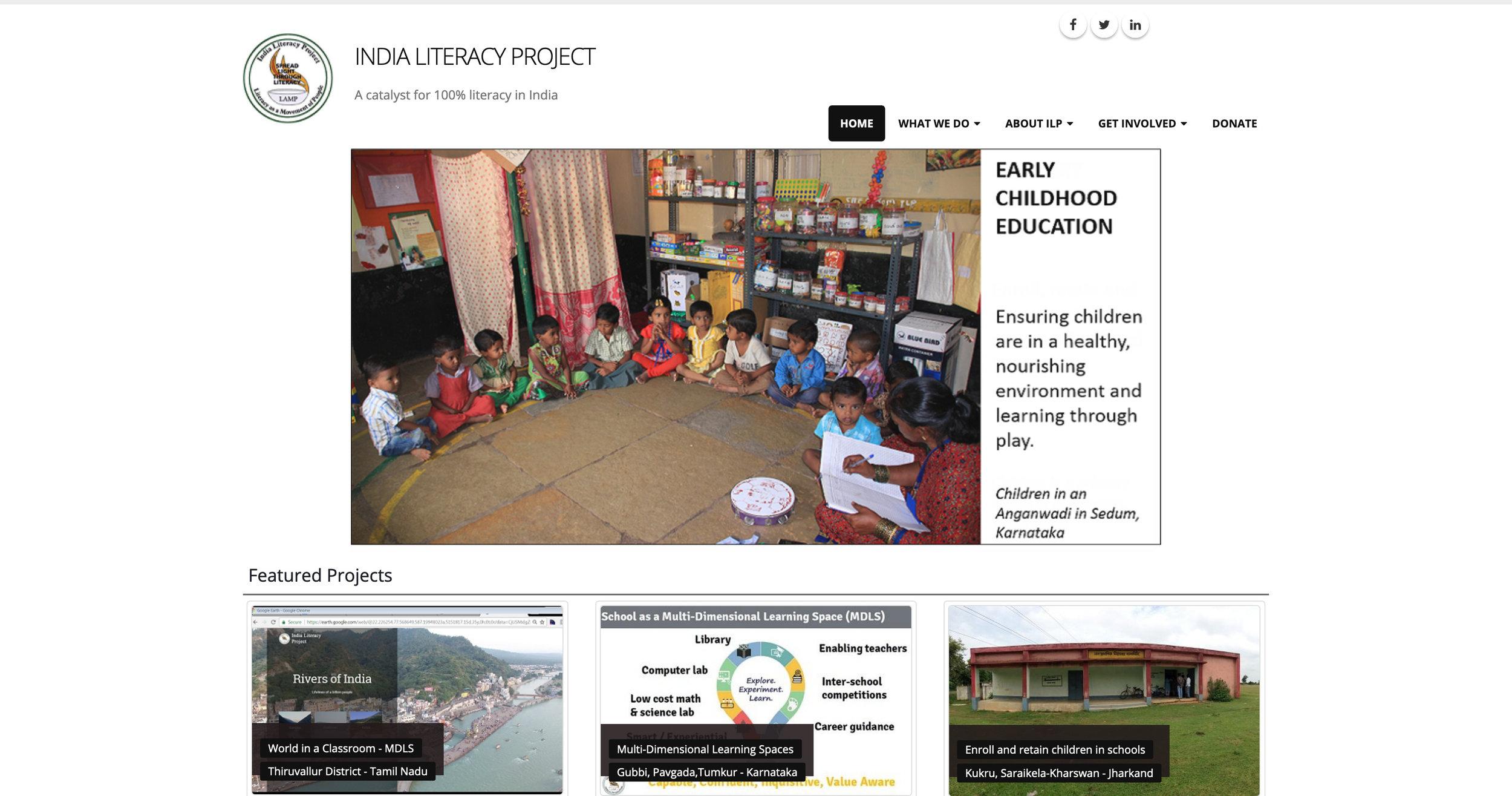 Current ILP Website