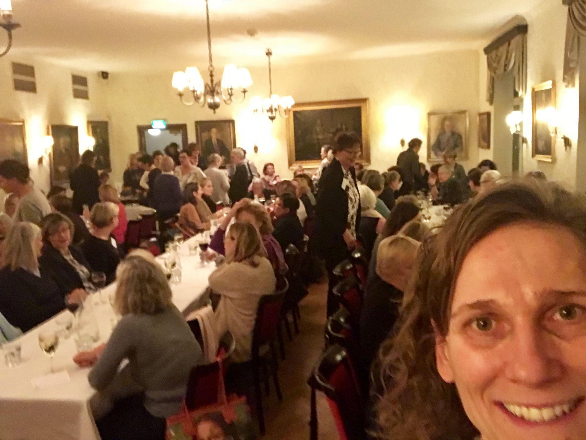 """Jag är så glad att jag fick möjligheten att dela mina """"läror"""" med så många kvinnor och vill ödmjukast tacka alla er som kom och lyssnade!"""