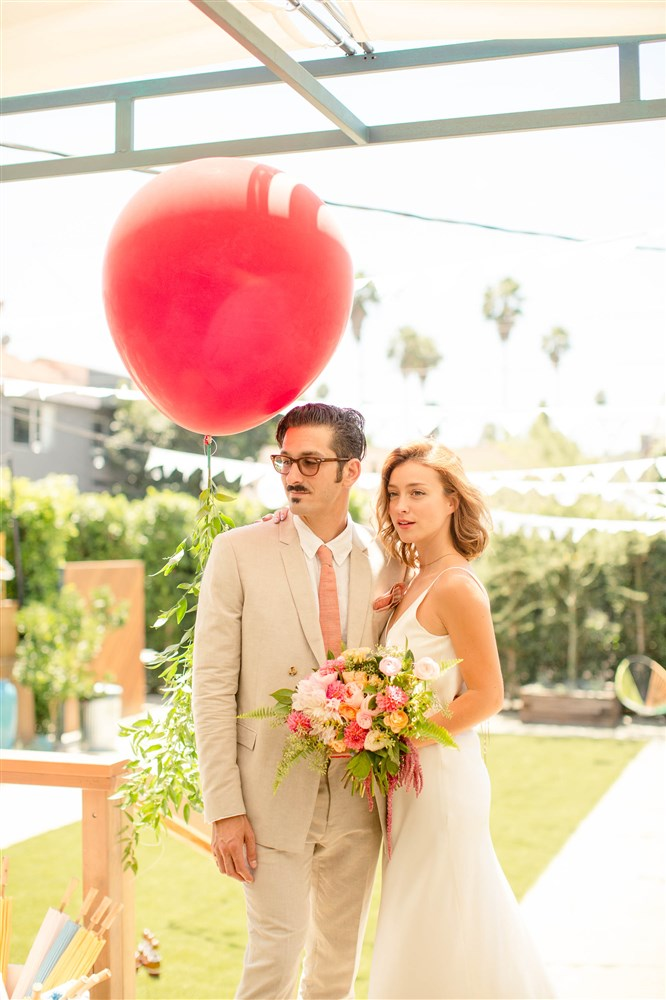 RUBY STREET WEDDING, LA BOHO WEDDING