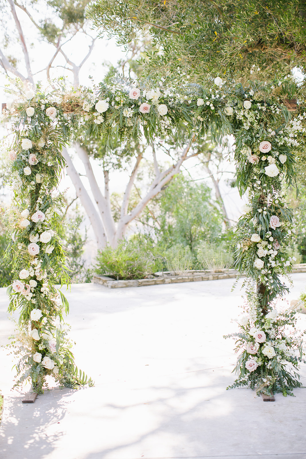 Ceremony Floral Arch