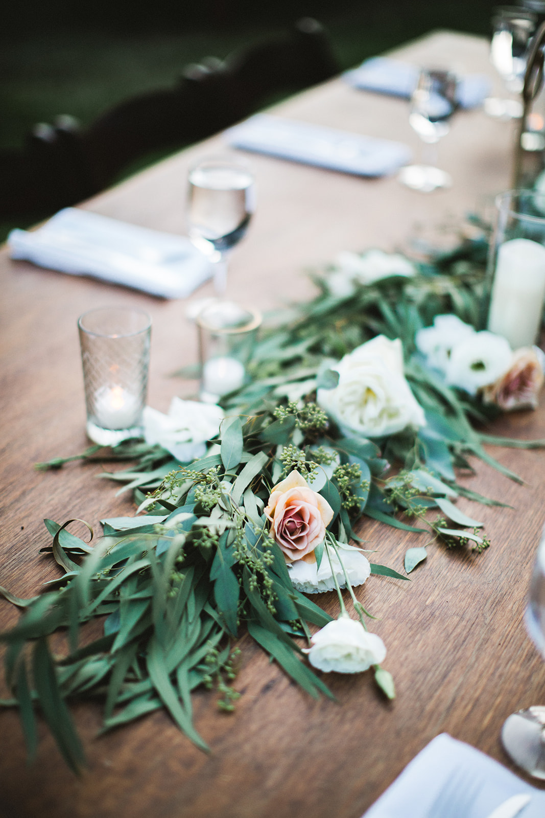 Table Floral Runner