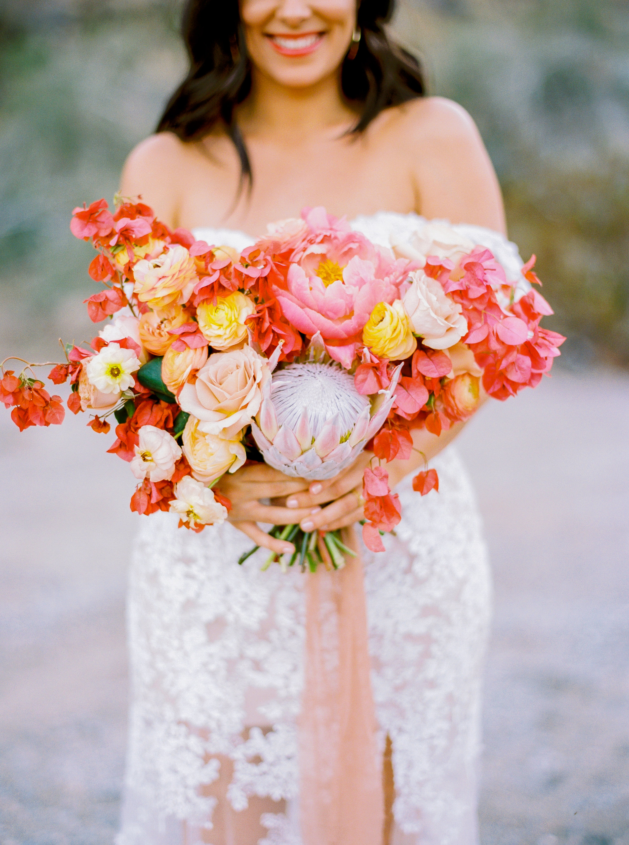 BOUGAINVILLEA BRIDE BOUQUET