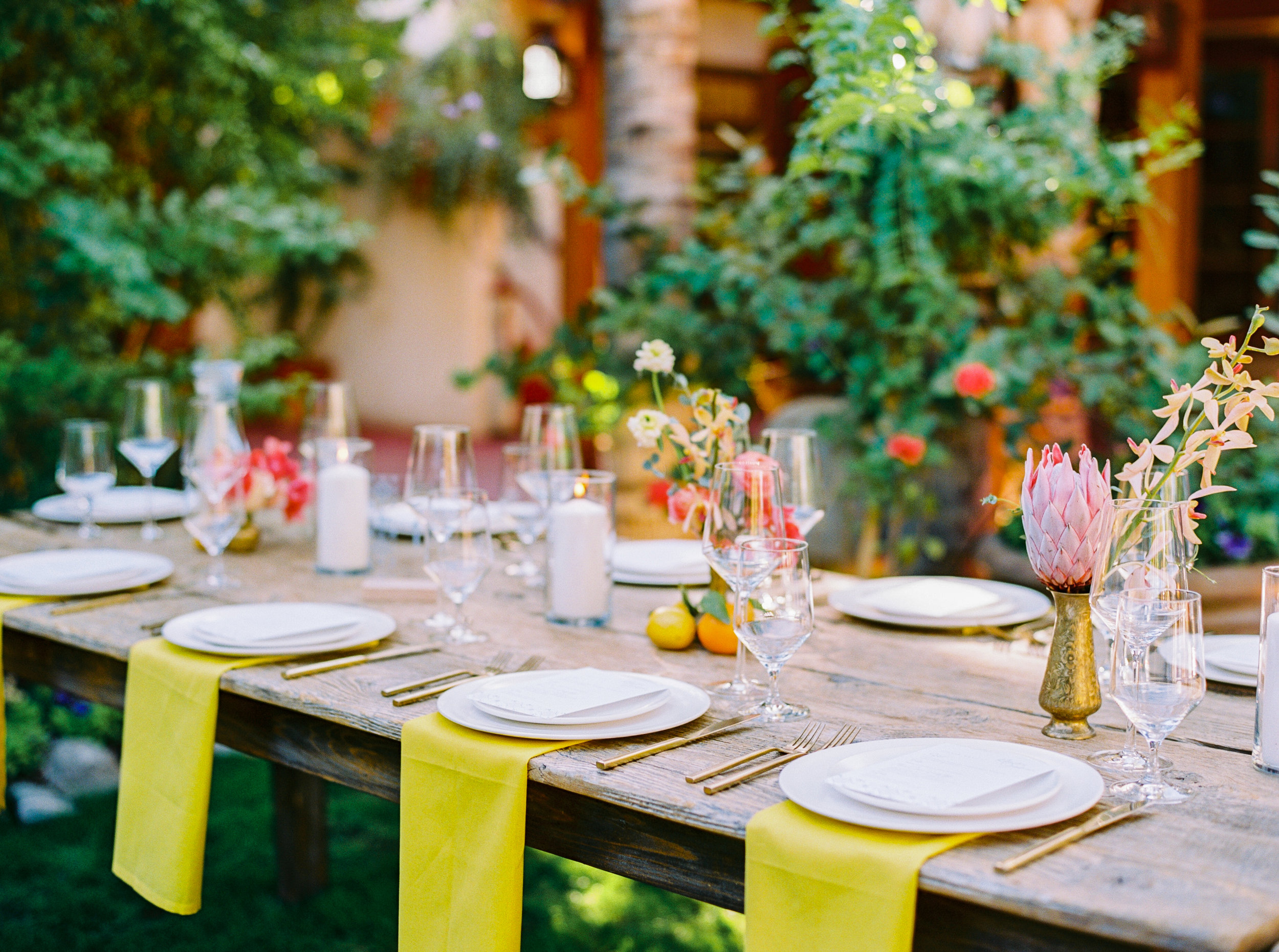 POSITANO PALM SPRINGS WEDDING