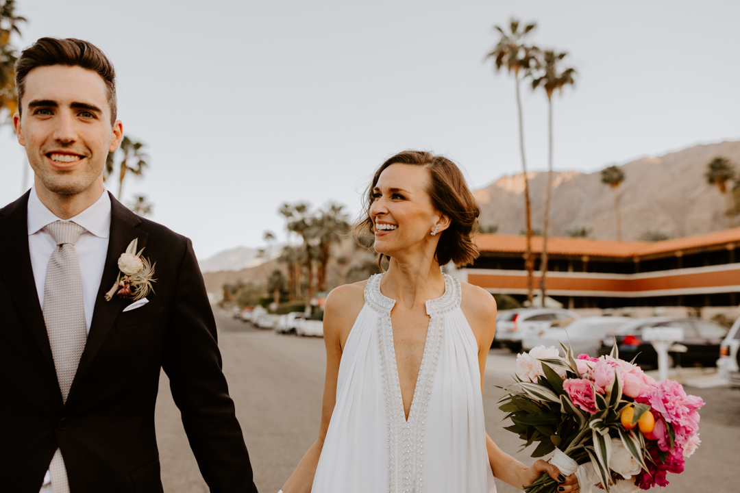 korakia wedding palm springs wedding