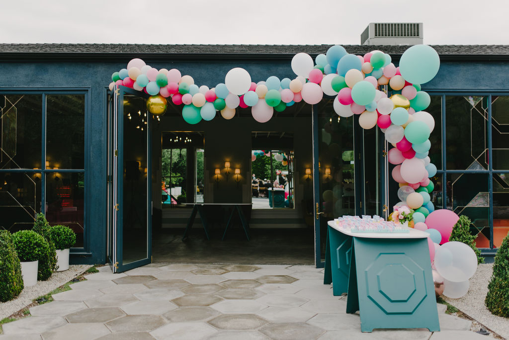 FIG HOUSE WEDDING, BALLOON WEDDING INSTALLATION,