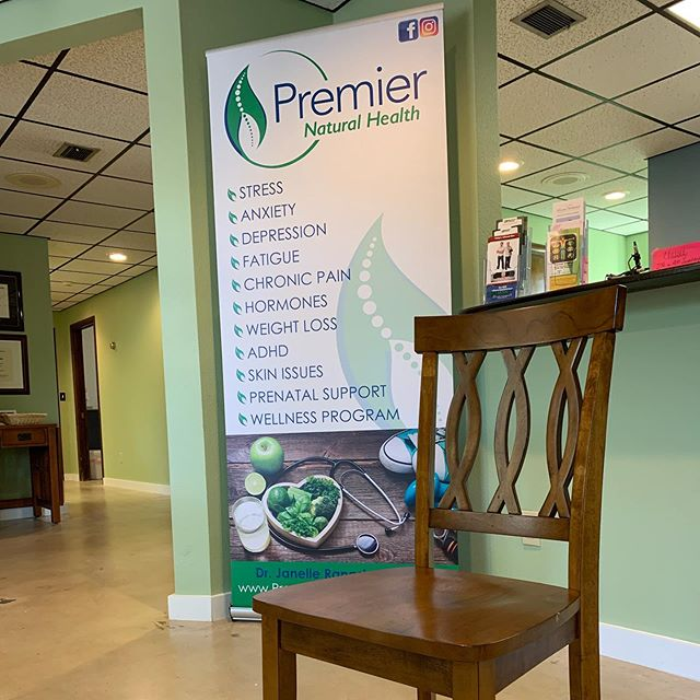 Join us tonight at 6:30, for a chair exercise class! Dr. Janelle, DC will be instructing you on how to stay pain-free during your workday. . . . . #painfree #chairexercises #stretch #natural #health #realhealthcare #notsickcare #freeclass #daytonabeach #portorange #newsmyrnabeach #ormondbeach #premiernaturalhealth #nutrition #chiropractic #neuroemotionaltechnique . . . . 624 S Ridgewood Ave Suite D Daytona Beach, FL 32114