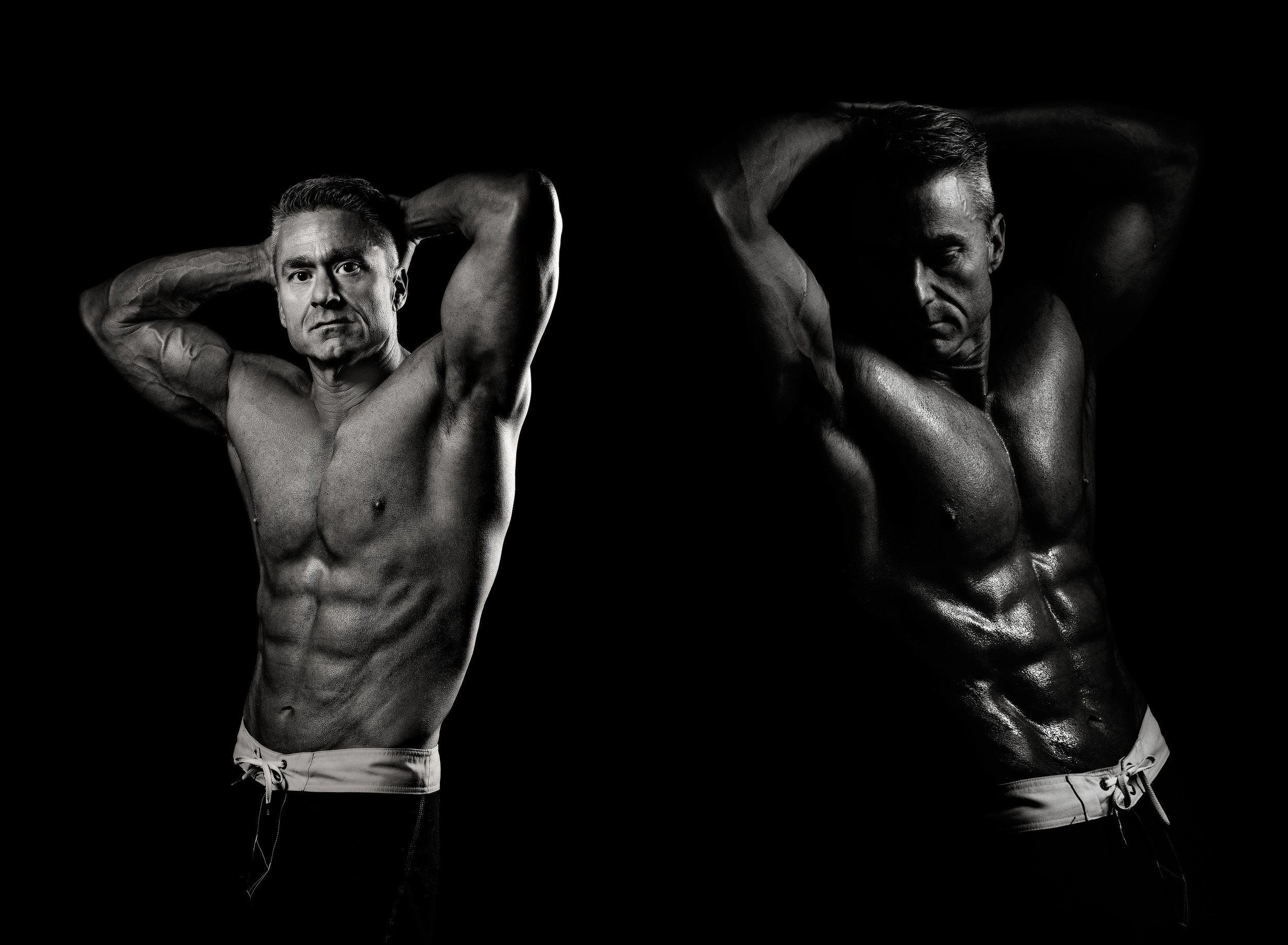 Jason Fitness Photography Session in Studio