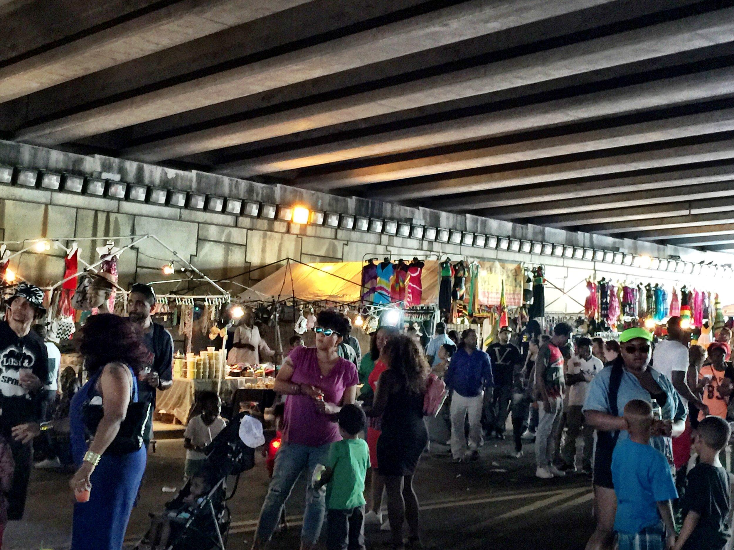 Sweet Auburn Festival Under Highway.jpg