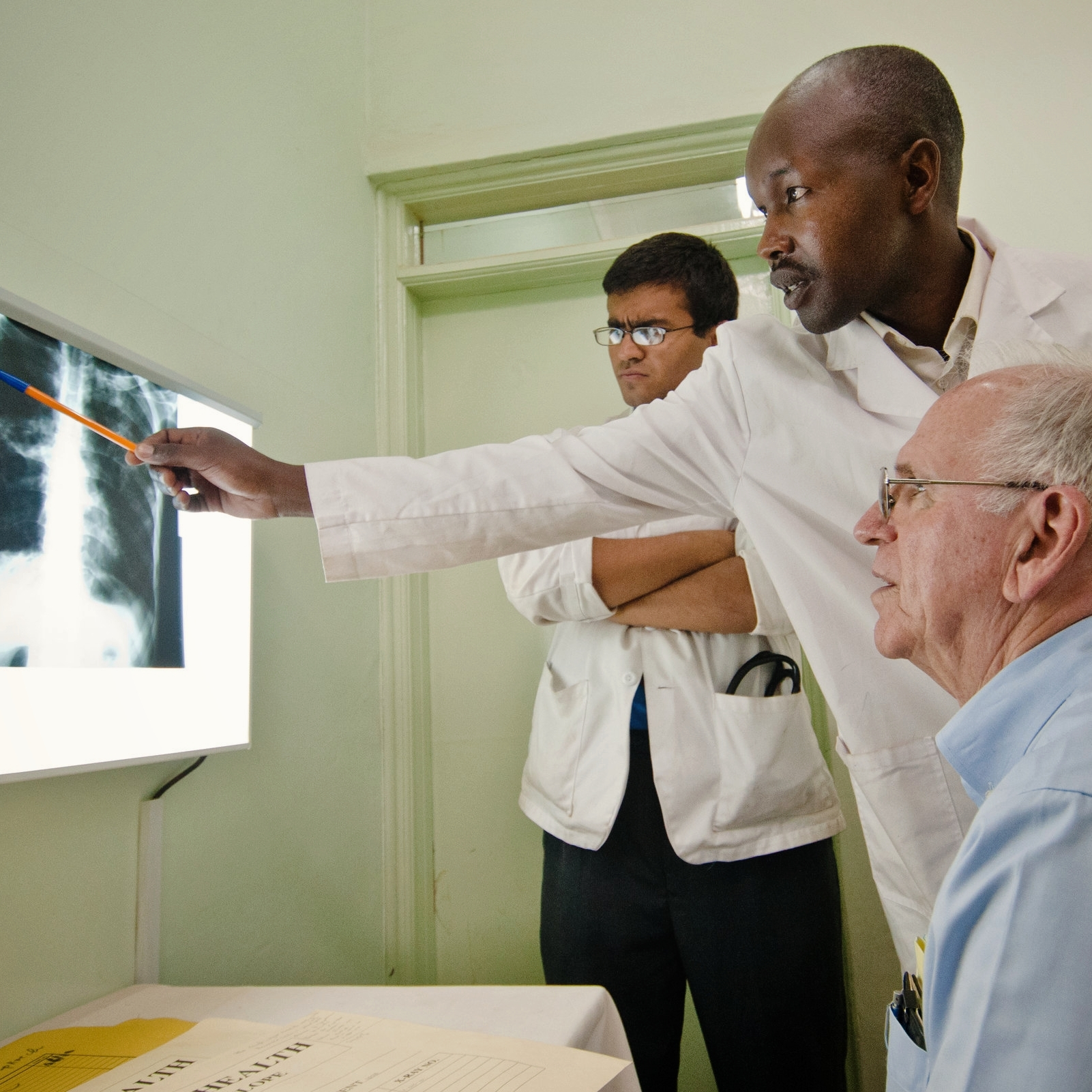Specialty Care - Tuberculosis and malaria treatment, palliative care, and more.