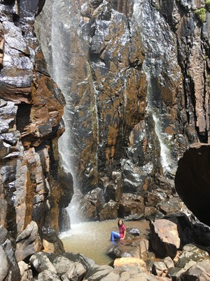 Torok Falls (when you travel with med students, they warn you about bare feet and schisto, which you ignore anyway)