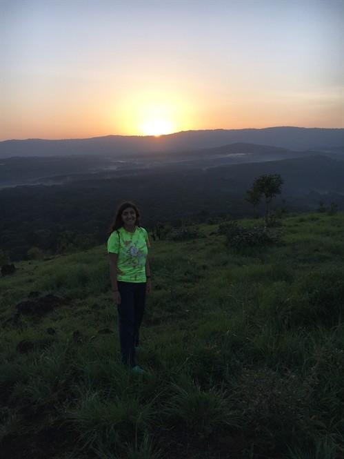 Sunrise hike at Kakamega Rainforest