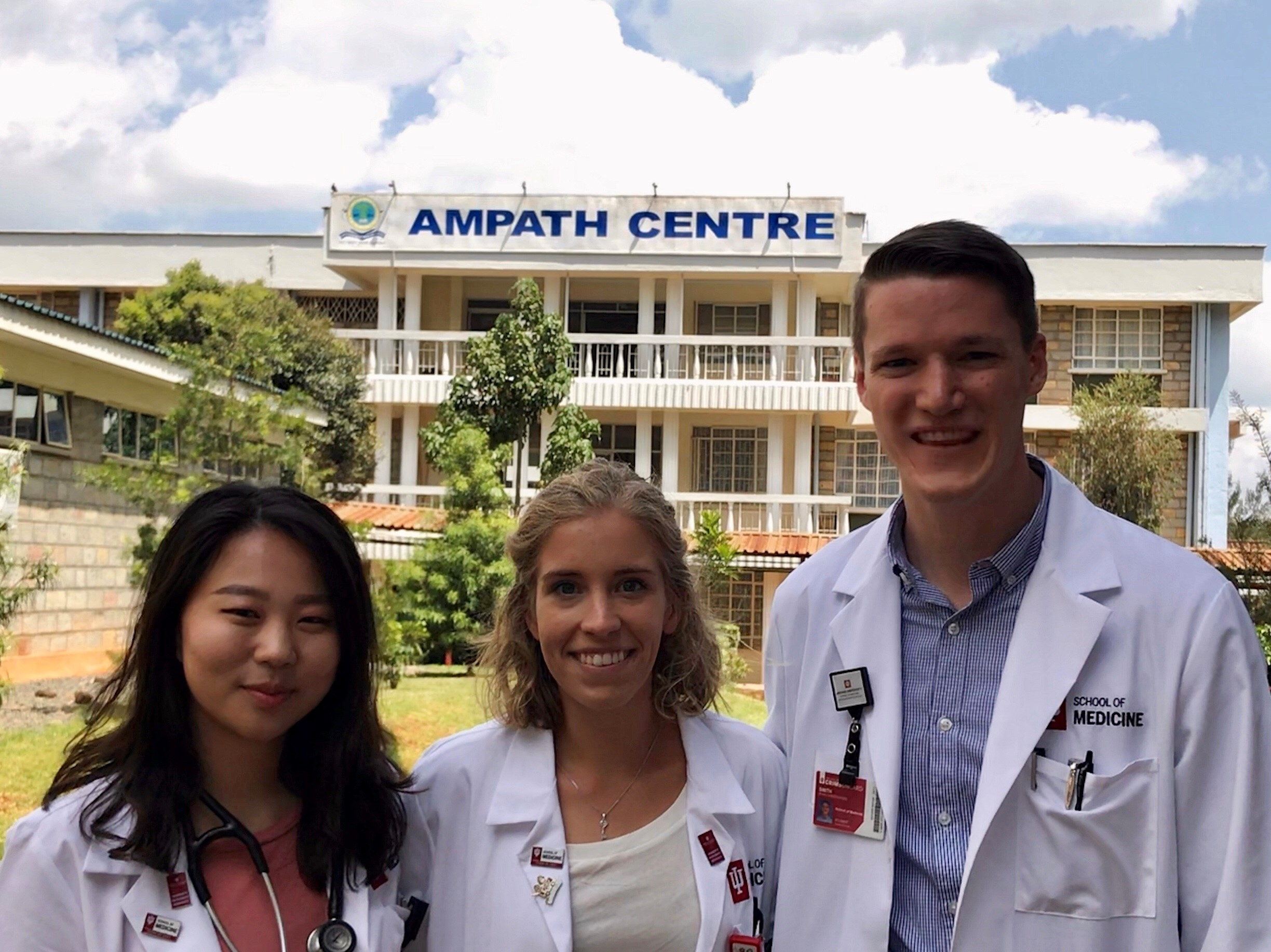 First day on the wards at the Moi Teaching and Referral Hospital/AMPATH Centre