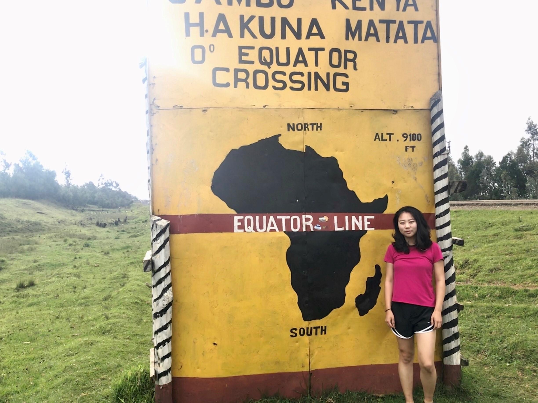 At 0°. Hakuna Matata Kenya!