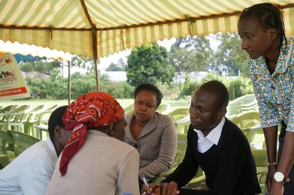 Community health workers include mental health as part of the integrated health screenings.