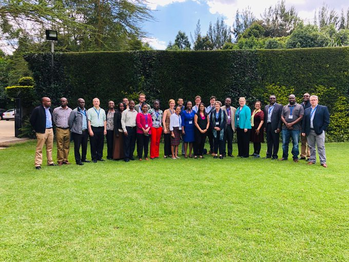 Participants in the two-day research strategic planning session included Kenyan and North American researchers and staff.