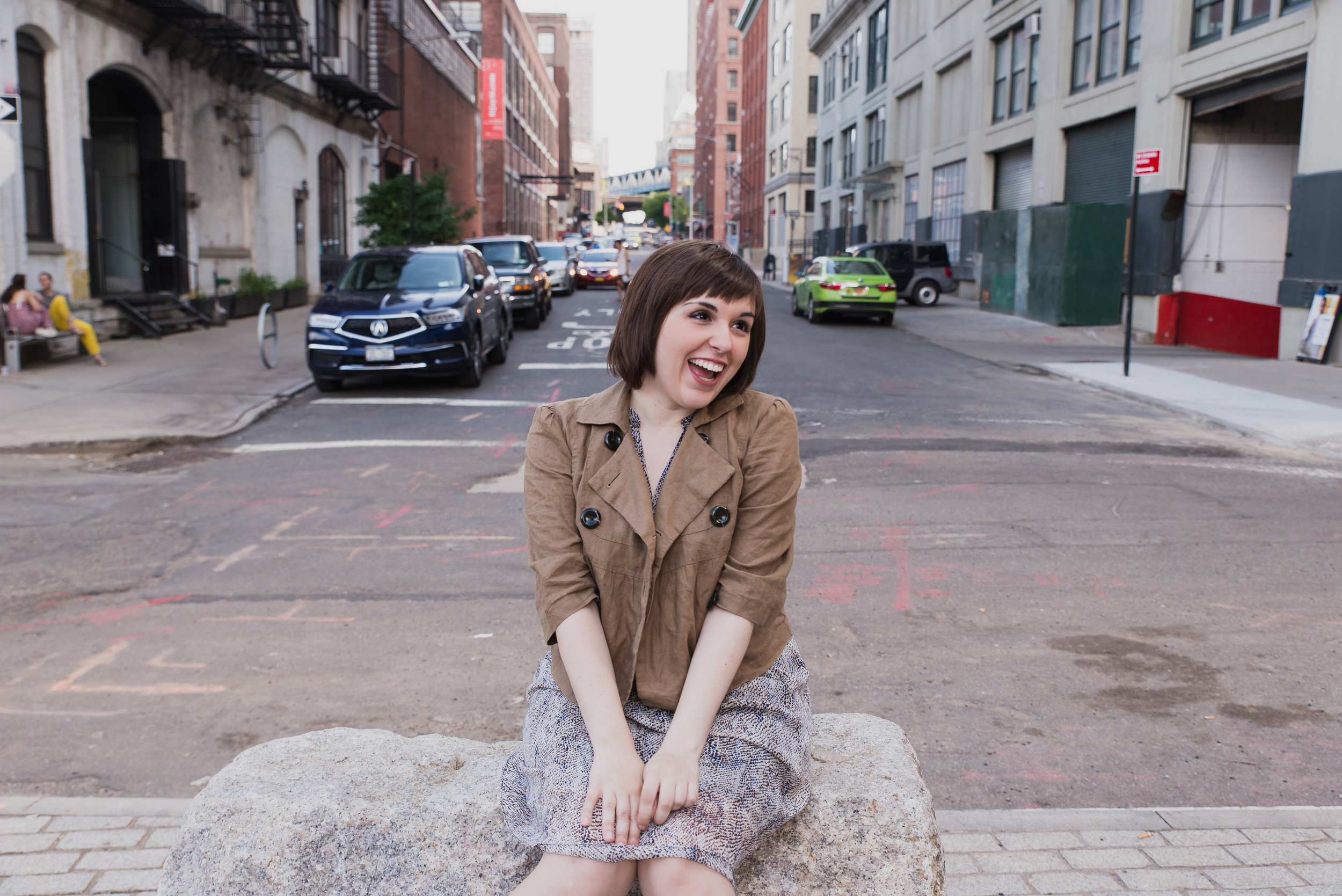 BREE KLAUSER IS... - a New York based Singer, Actress, Voiceover artist, Songwriter and funny lady who happens to be born legally blind. She grew up 30 miles from NYC fell in love with singing and performing through musical theatre and later on the Jazz greats of the 40s, 50s, and 50s. She earned her BFA in acting from Brooklyn College. She has spent the past several years being mentored by former Metropolitan Opera singer Francisco Casanova, and has studied with many other coaches and Broadway musical directors. She has worked extensively in New York Theatre and is a member of the Off Broadway company Theatre Breaking Through Barriers. In 2018 Bree started production on her breakout role of