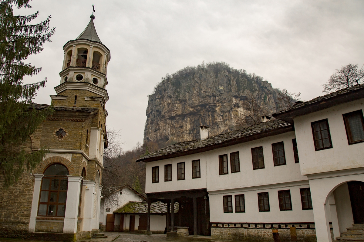 Dryanovo Monastery in the mountains of Bulgaria has quite a history and stunning views all around. Dedicated to St. Archangel Michael, the monastery was founded in the l2th century and near the summer residence of the Bulgarian rulers from the Assen dynasty.