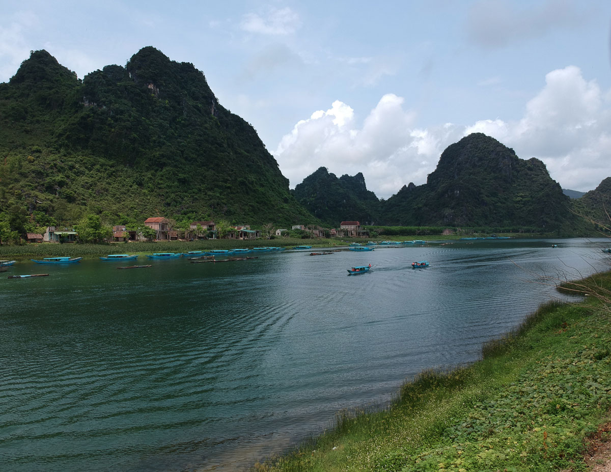 Northern Vietnam's UNESCO World Heritage protected Phong Nha Ke-Bang National Park.