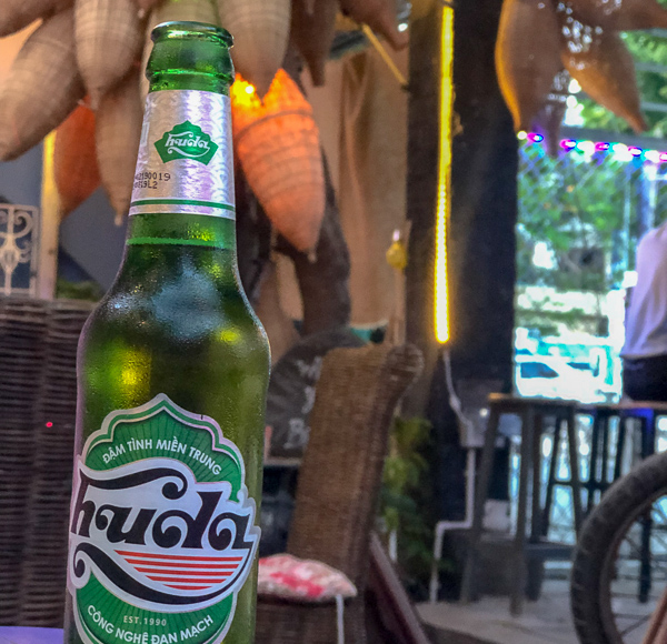 Khoai is a simple ruin bar that serves regional and craft beer (bottled and draught) made throughout Vietnam