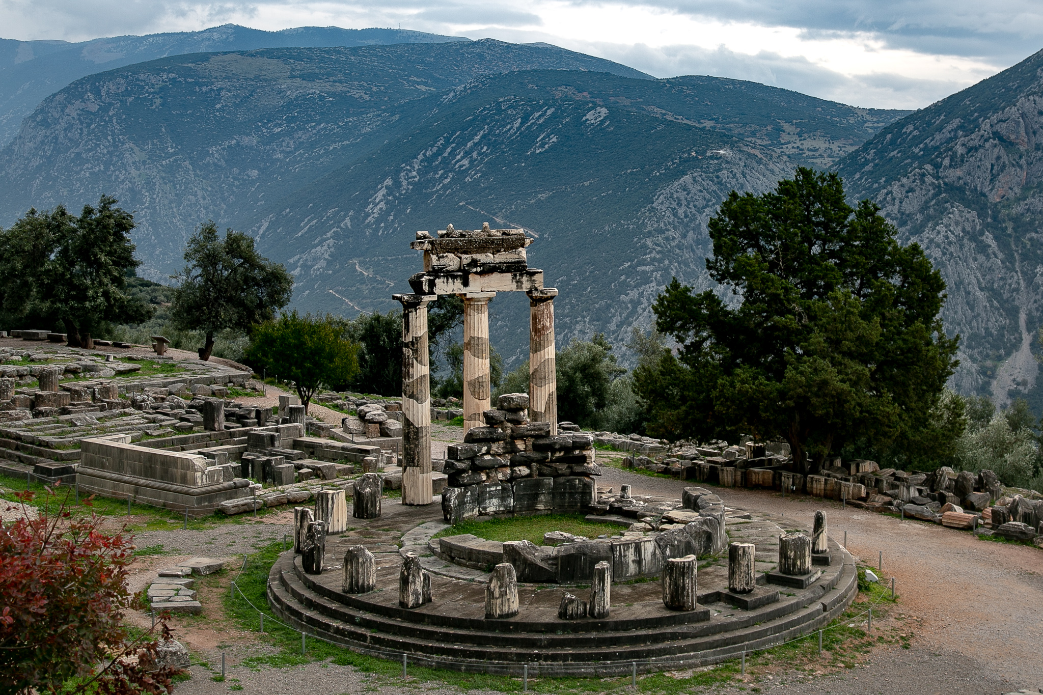 The sanctuary of Pallas Athena near Delphi, Greece © Kim I. Mott, all rights reserved