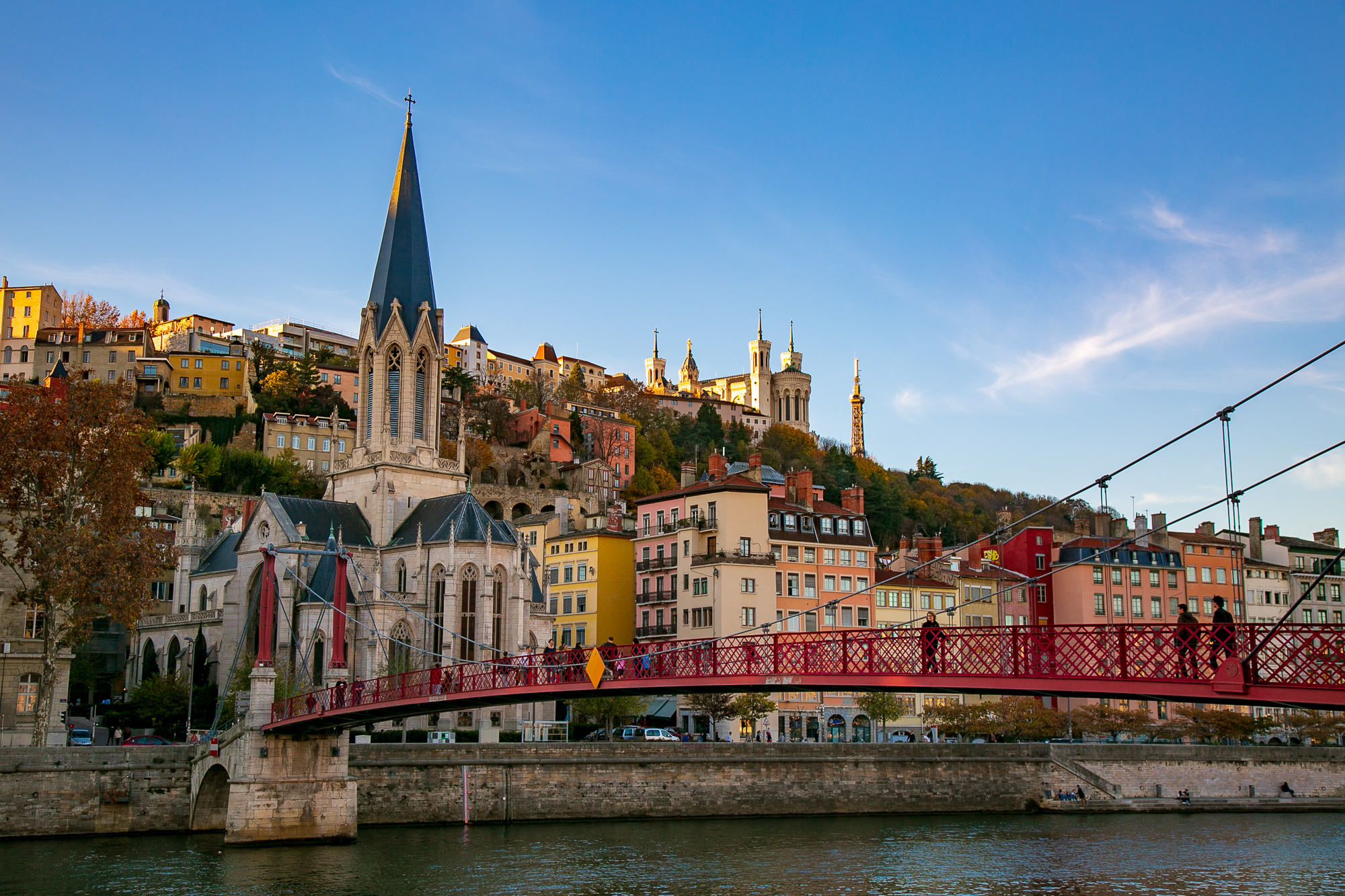 This historic center of Lyon, France — a UNESCO World Heritage site © Kim I. Mott, all rights reserved