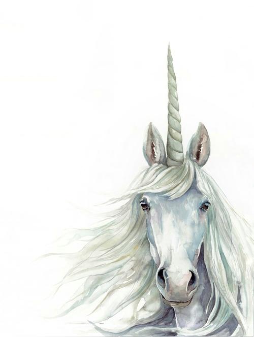 Unicorn Watercolor | ampersandmother.com
