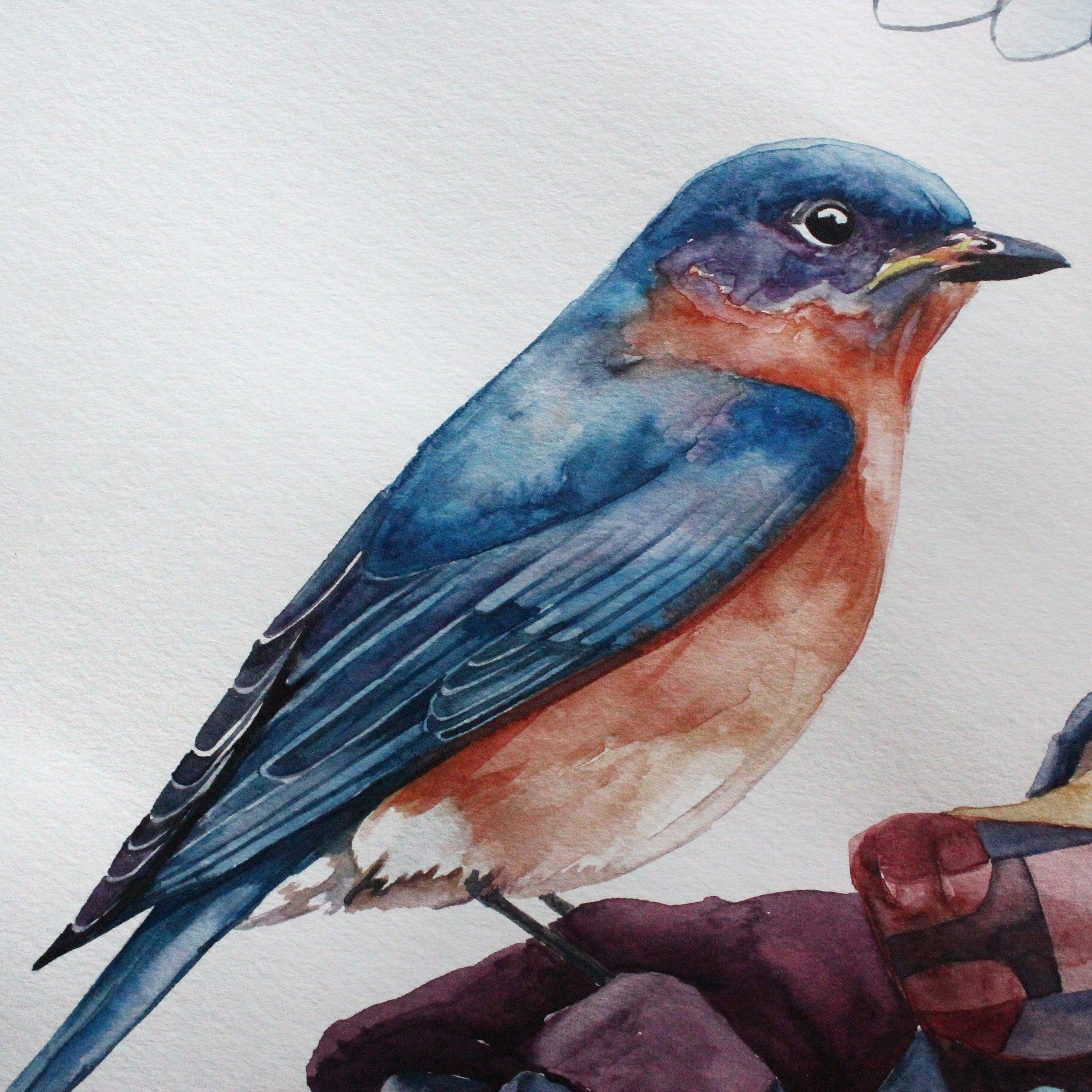 Mama Blue Bird