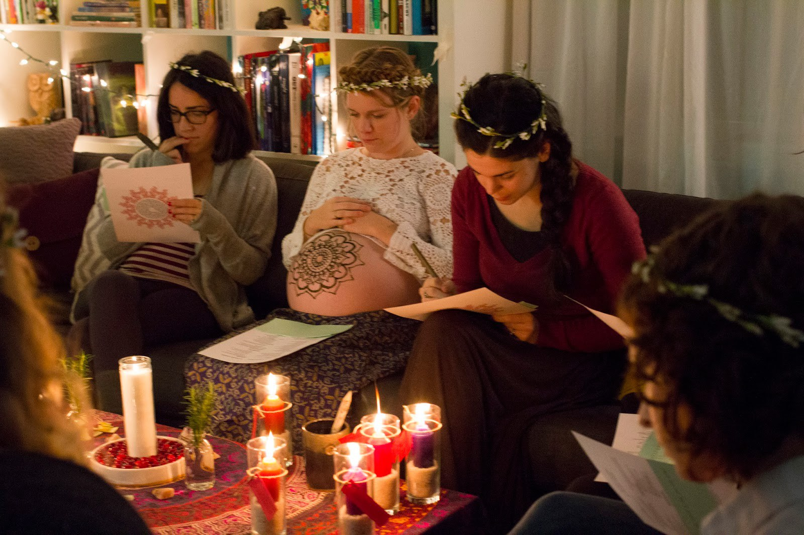 a mother's blessing ceremony | ampersandmother.com