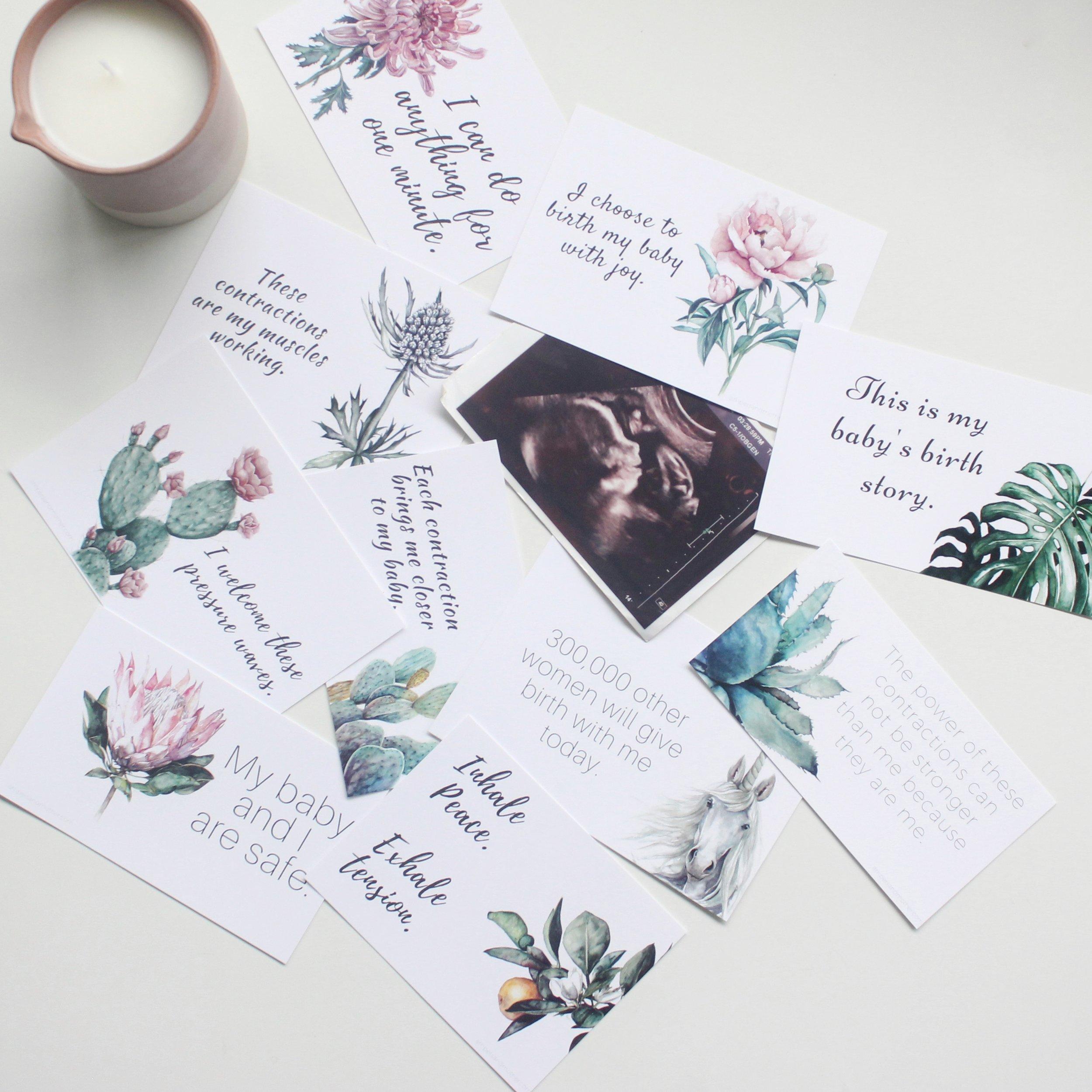 Birth Affirmations | ampersandmother.com