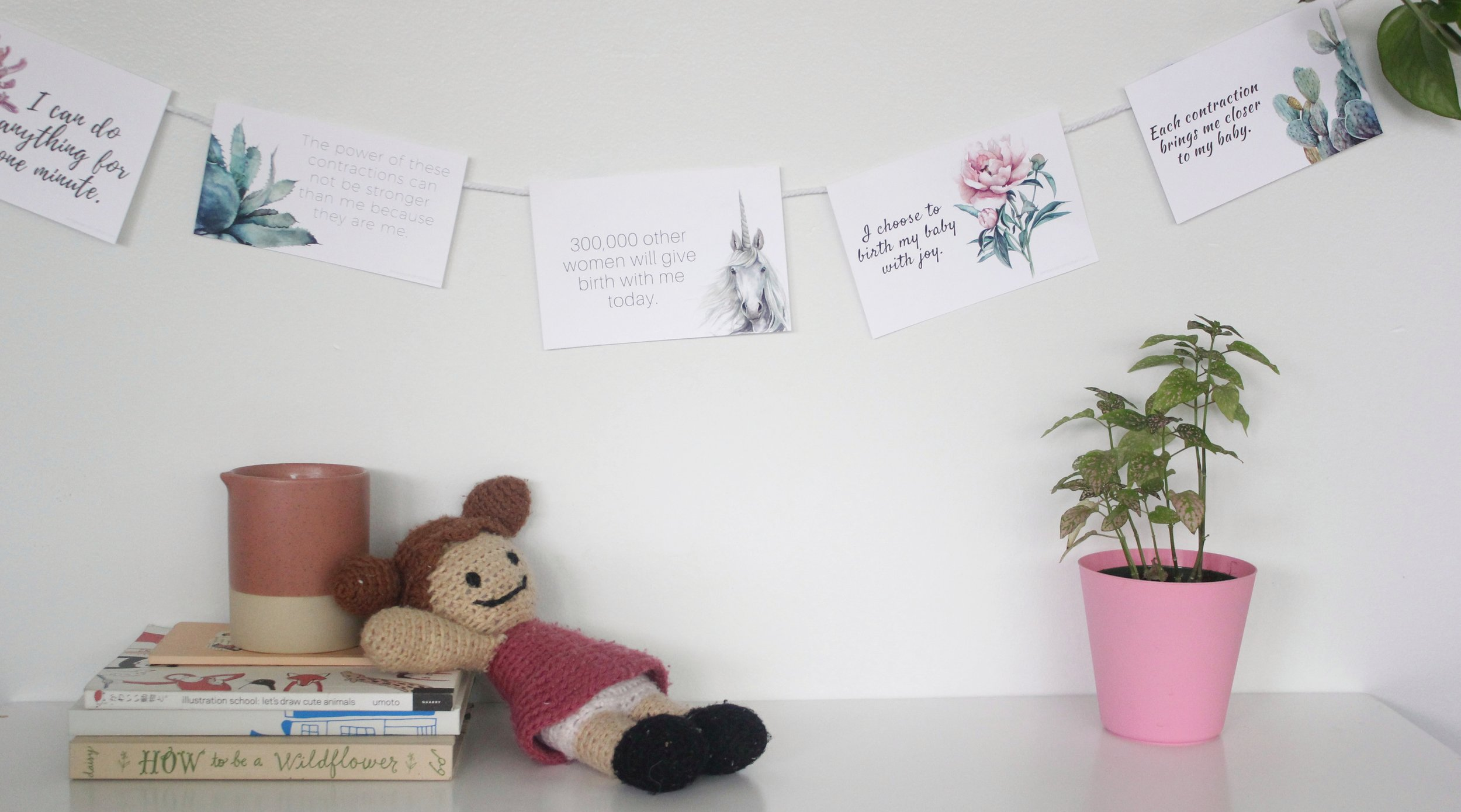 Birthing Affirmations | ampersandmother.com