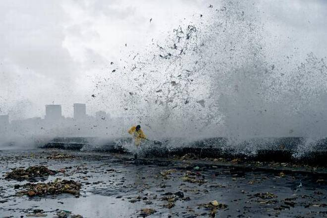 Rising Sea Levels bring back not only water along, but also all the waste that humans have been dumping into the sea
