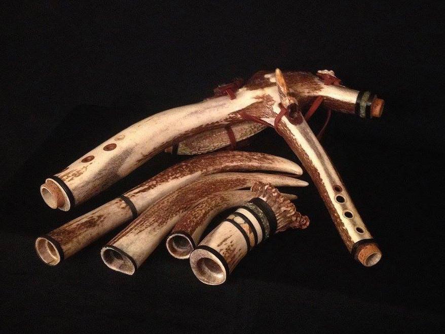 Mayan Rack Flutes -