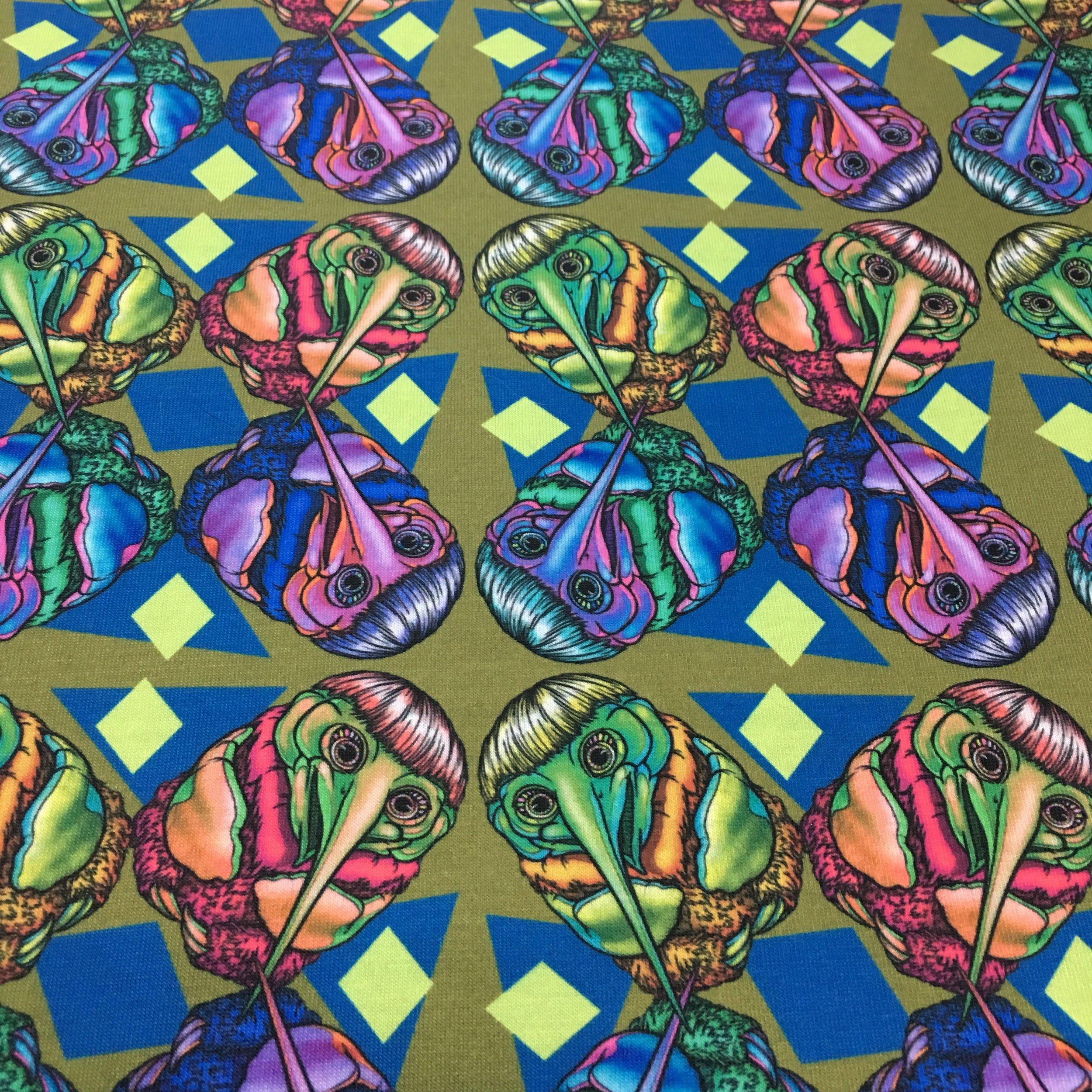 Mushroom Fabric
