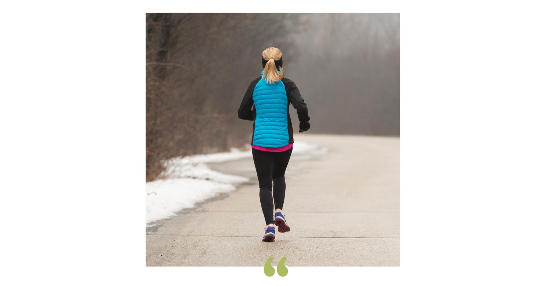 Julie ran a half marathon with zero discomfort! -