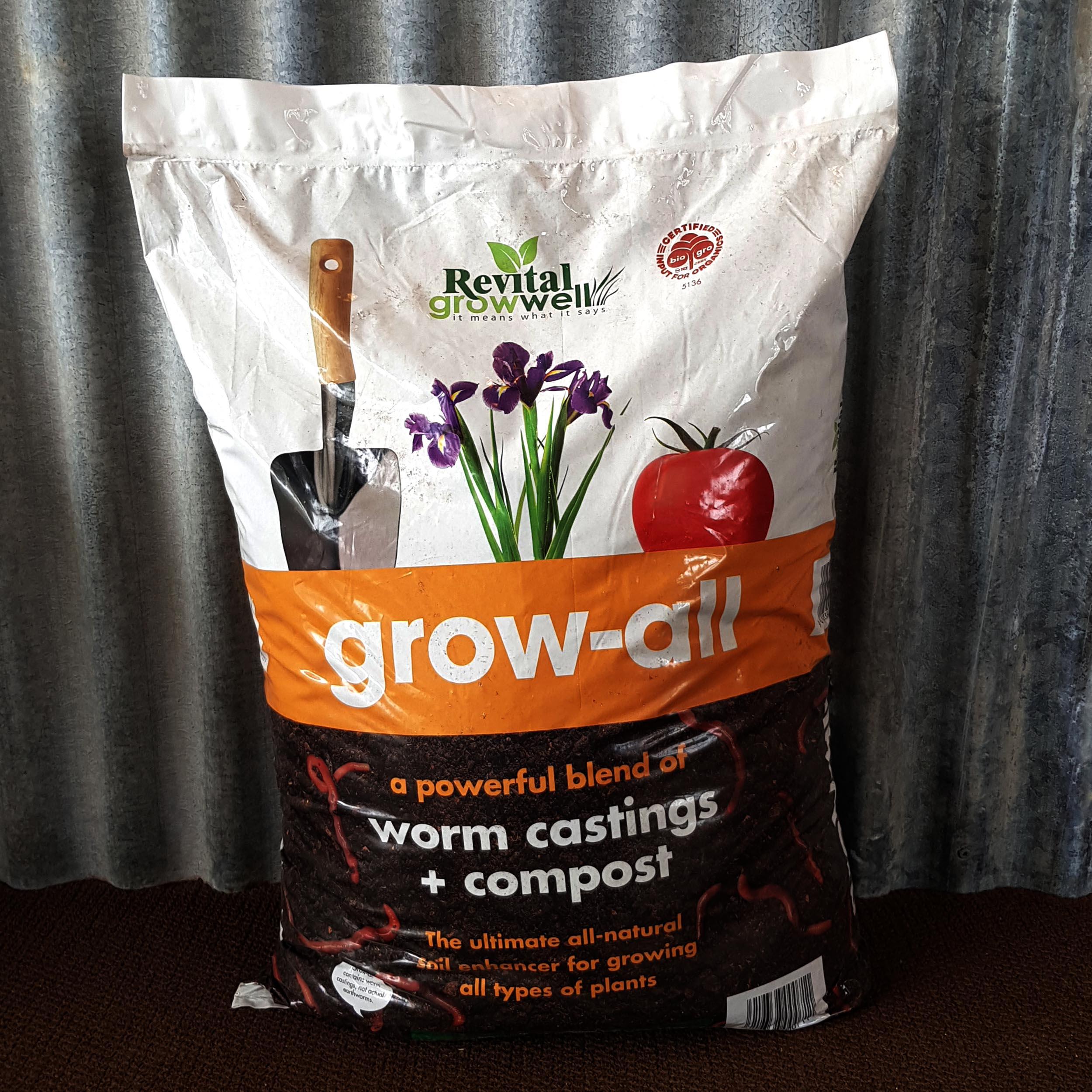 Revital Worm Castings & Compost