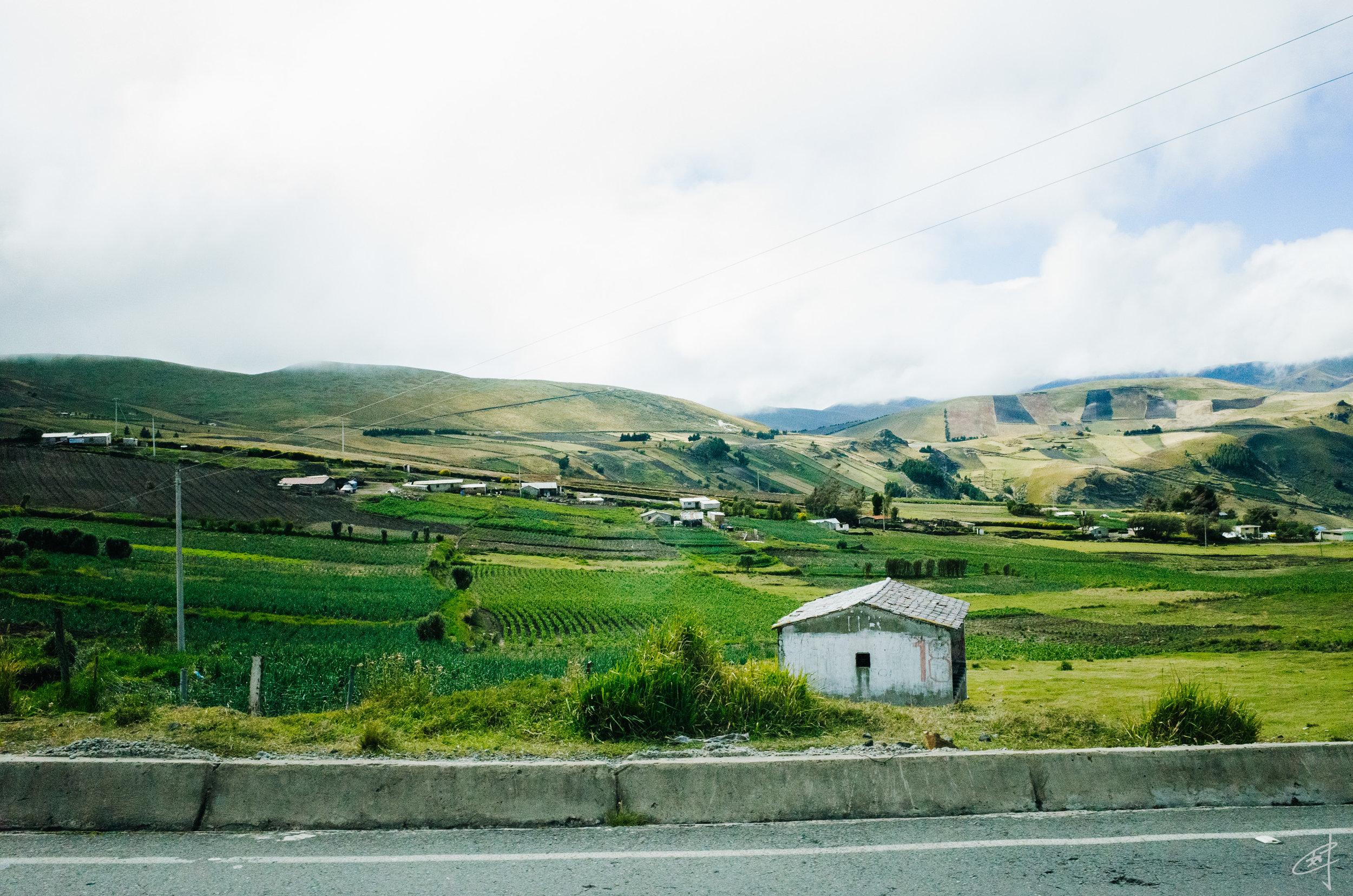 En route to Quilotoa, 2018