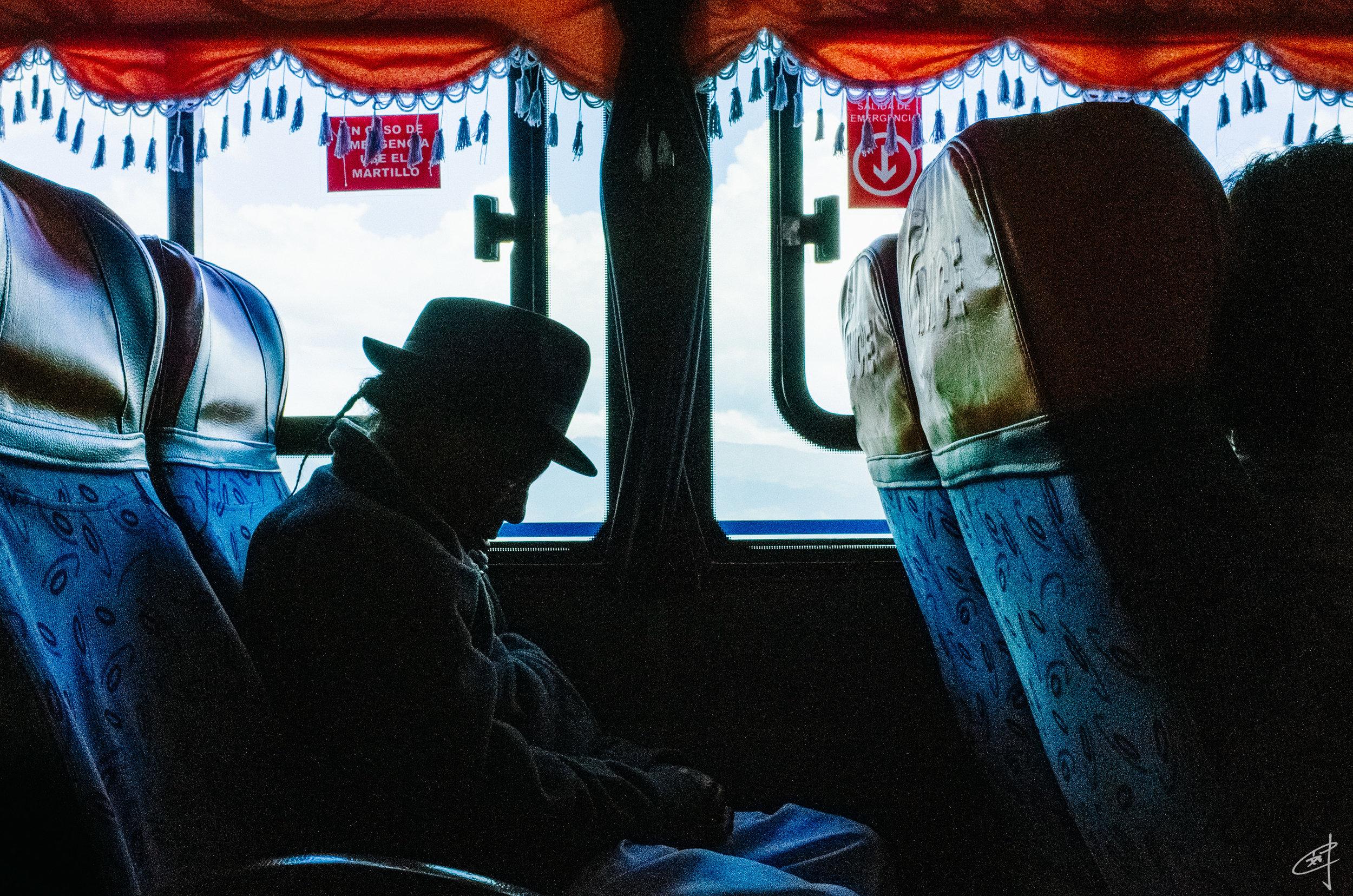 En route to Quito, 2018
