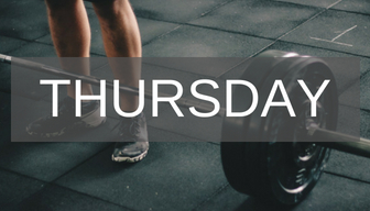 SCHEDULE - TOTAL STRENGTH 60 min | 9:30amA powerful, focused workout devoted to developing muscular strength, endurance, and body shape. ($10/class)PERSONAL FOUNDATION YOGA 60 min | 12:00pmA class designed for all levels to rejuvenate and energize during the lunch hour.