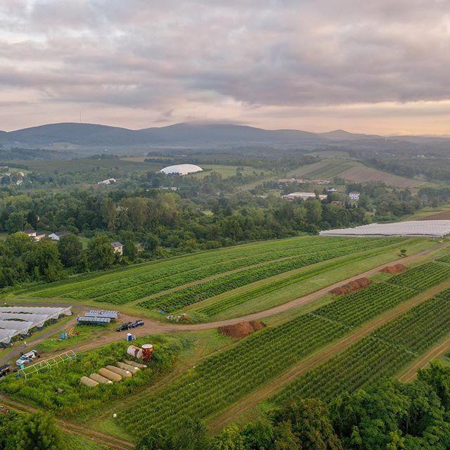 Farm #newyork #aerialphotography #dronephotography
