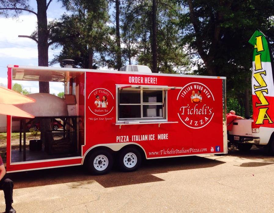 Ticheli's Italian Pizza Food Truck