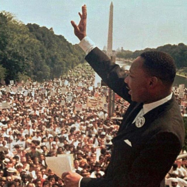 Today we celebrate the life and legacy of Martin Luther King Jr. A man who brought hope and healing to us all. ❤️